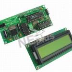 LCD MIKROPROCESOROWY CZĘSTOSCIOMIERZ 10Hz - 100MHz LCD