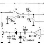 Wzmacniacz mikrofonowy z kompresorem dynamiki.