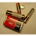 różne baterie