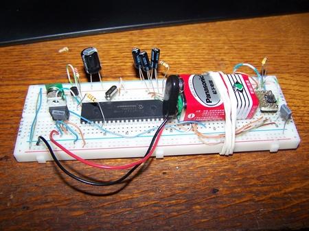 Zdjęcie wersji testowej urządzenia