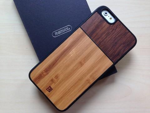 Etui drewniane