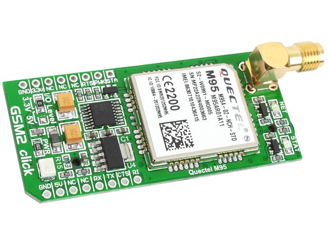 Fot. 2. Moduł rozszerzenia z modemem GSM. Przyda się do zbudowania alarmu z powiadomieniem. Jaki moduł gsm do Arduino