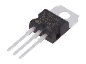 Stabilizator liniowy: L7805ACV