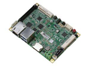 Komputer PICO-APL1 o rozmiarach 100x72mm.